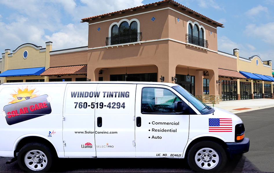 Mobile Window Tinting Van