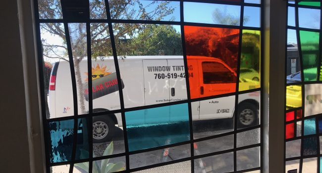 window tinting process